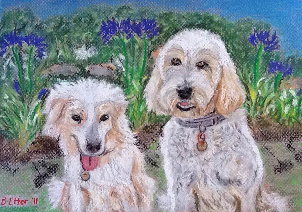 Dog Pastels